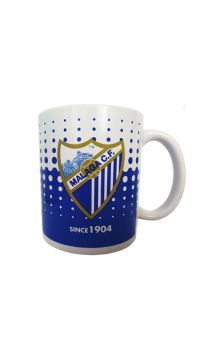 MCF ROYAL BLUE DOTS MUG