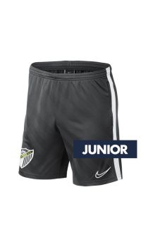 POCKET GRAY TRAINING SHORT MALAGA CF 2019/20  -JUNIOR-