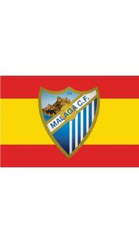 BANDERA ESPAÑA - MALAGA CF