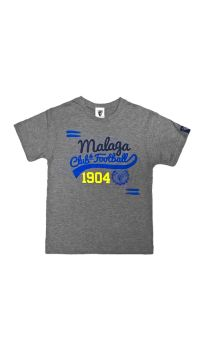 TSHIRT BASEBALL GRIS MALAGA CF -INFANTIL-
