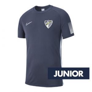 OFFICIAL MALAGA CF PLAYER GRAY TRAINING SHIRT 2019/20 -JUNIOR-