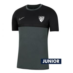 OFFICIAL MALAGA CF PLAYER BLACK TRAINING SHIRT 2020/21 -JUNIOR-