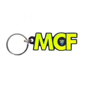 MCF NAVY BLUE KEYRING