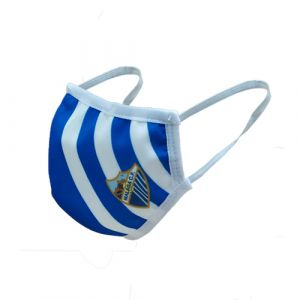 MCF BLUE & WHITE REUSABLE FACE MASK -ADULT-