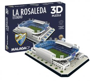 PUZZLE 3D 'LA ROSALEDA' MALAGA CF