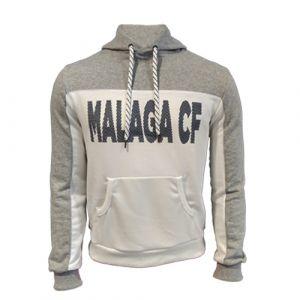 "SUDADERA BLANCA ""COLECCION RUBBER"" MALAGA CF"