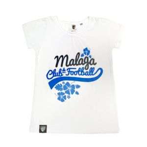 TSHIRT BASEBALL NIÑA MALAGA CF -INFANTIL-