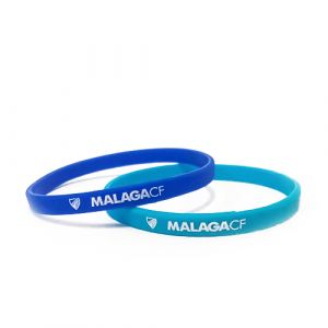 PACK 2 SILICONE BRACELETS BLUE